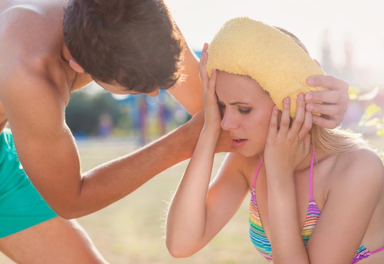 Wenn die Sonne gefährlich wird: Sonnenstich & Hitzschlag